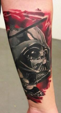 Michal Ledwig best of tattoo star wars darth vader
