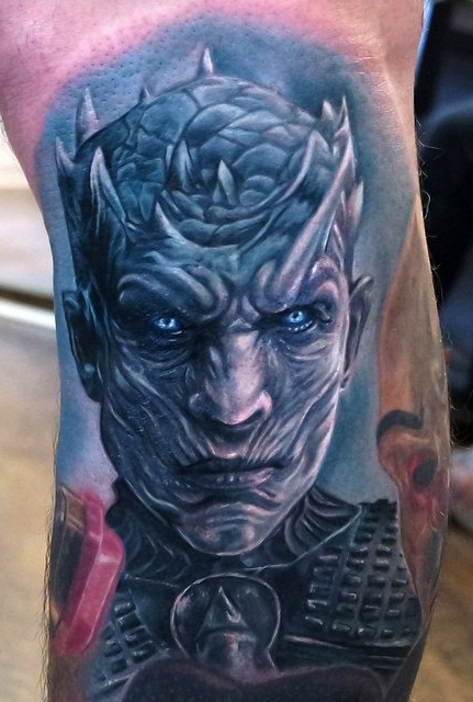 Jordan Croke geek best of tattoo game of thrones GOT