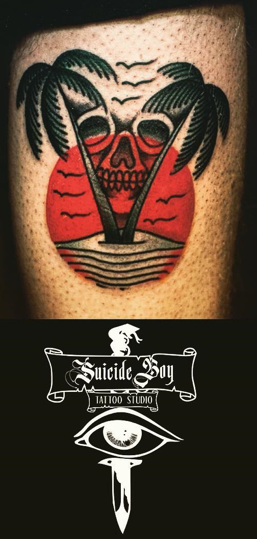 Dario Nacho Nuzzolese best of tattoo geek beach