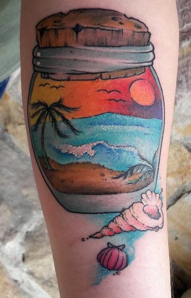 Eme García best of tattoo geek beach