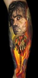 Nikko Hurtado geek best of tattoo game of thrones GOT