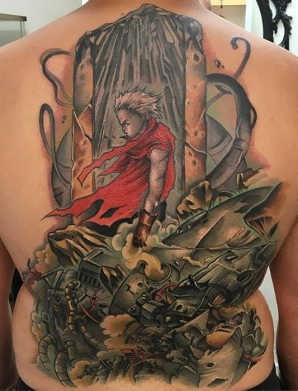 Enrik Gispert best of tattoo geek akira