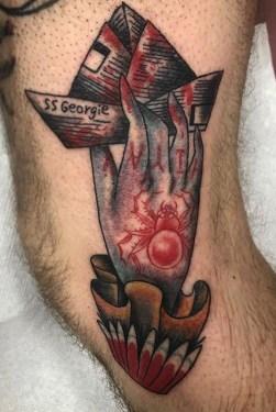 Ashli Hill best of tattoo it ca pennywise clown horror movie float