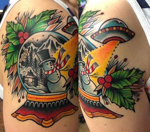 Marshall Rathburn best of tattoo geek peau christmas