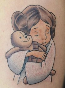 unknown best of tattoo star wars leia