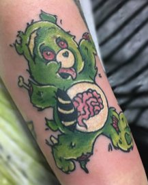 Courtenay Dickson best of tattoo care bears bisounours