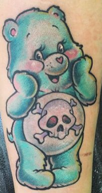 Julia Seizure best of tattoo care bears bisounours