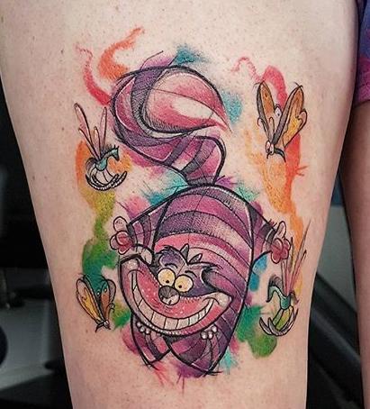 Kerste Diston best of tattoo geek aquarelle