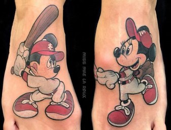 Mae La Roux best of tattoo walt disney mickey