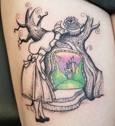 Nuria Fortuny geek tattoo best of tattoo alice wonderland pays merveilles