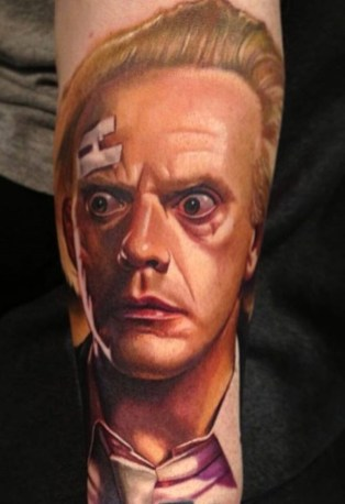 Carlos Rojas geek dans la peau best of tattoo back to the future
