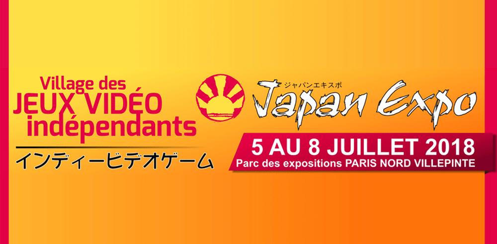 Japan Expo - Jeux vidéo indépendants