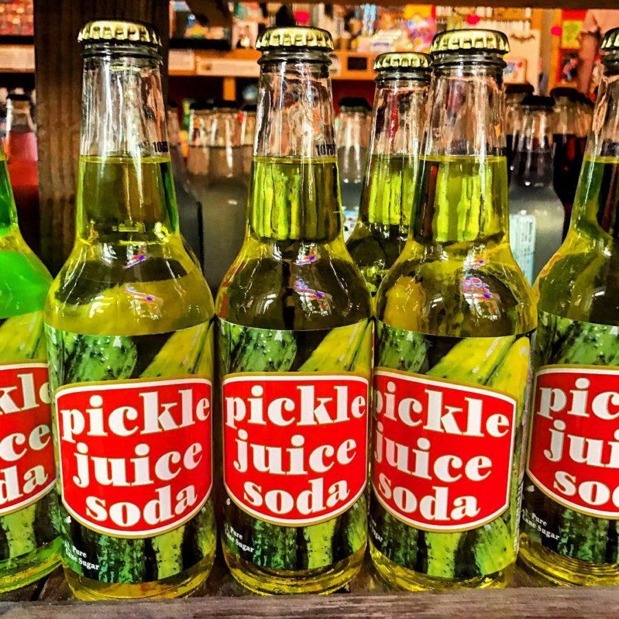 Tom's Selec - pickle juice soda