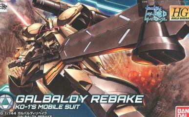 GALBALDY REBAKE BANDAI
