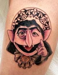 Anni Richter muppets tattoo geek