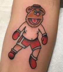 Collin Kelsey muppets tattoo geek