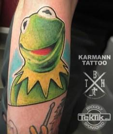 Karmann Tattoo muppets tattoo geek
