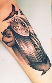 Mouse muppets tattoo geek