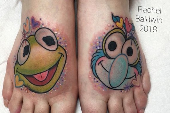Rachel Baldwin muppets tattoo geek