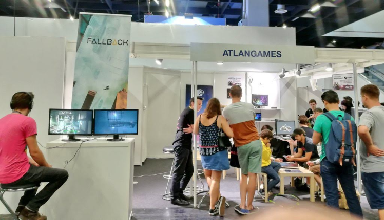 TAG gamescom 2018 stand Atlangames