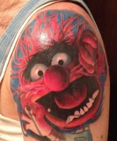 muppets tattoo geek
