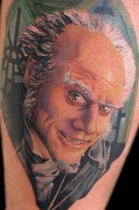 Alex De Pase geek peau best tattoo jim carrey tag