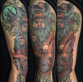 Annie Frenzel LOTR lord of the ring geek tattoo tag