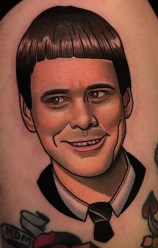 Dave Wah geek peau best tattoo jim carrey tag
