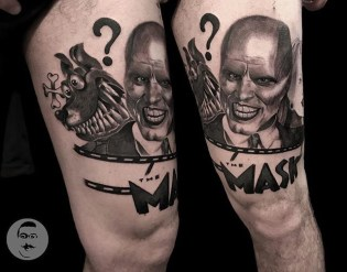 Giovanni Vassallo geek peau best tattoo jim carrey tag