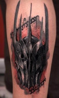 Thomas Carli Jarlier LOTR lord of the ring geek tattoo tag