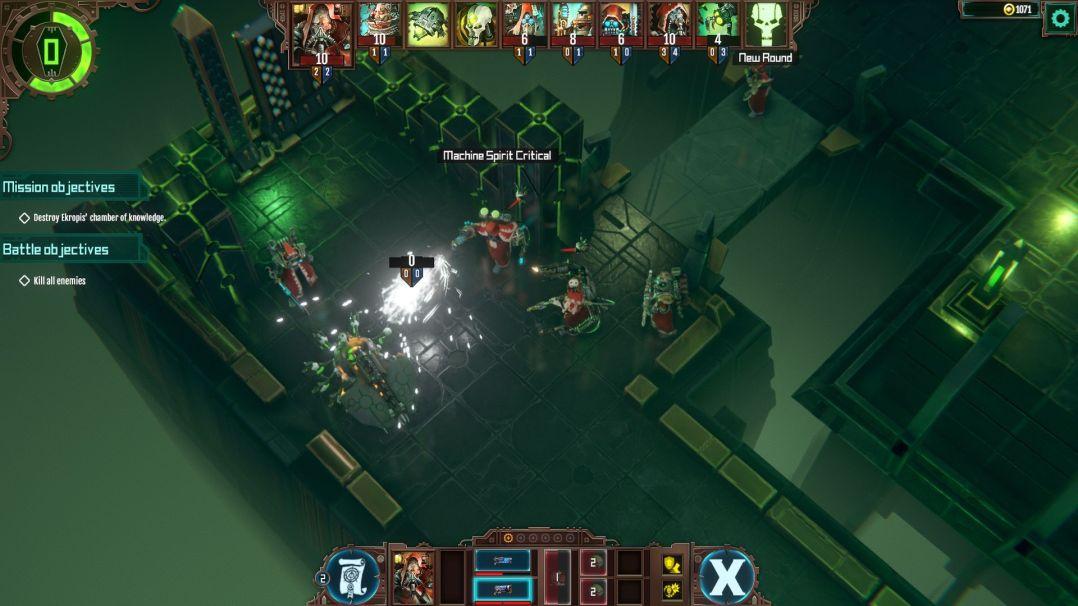 Warhammer 40000 Mechanicus - presskit