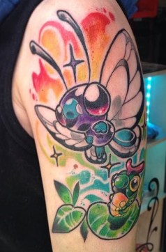 Simon Zook best of tattoo tag geek pokemon