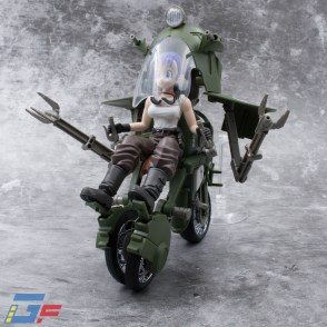 FIGURE RISE MECHANICS BULMA'S VARIABLE N°19 MOTORCYCLE TRIKE MODE BANDAI GALLERY TOYSANDGEEK @Gundamfascination