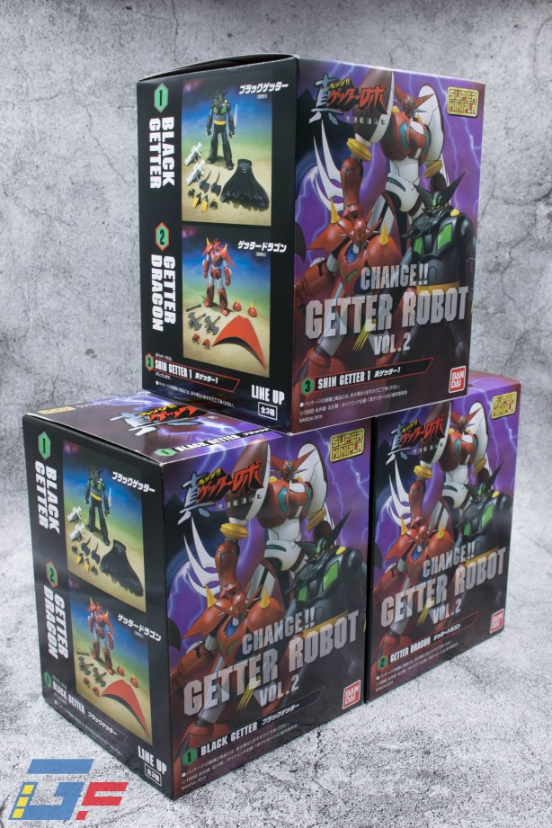 CHANGE !! GETTER ROBOT VOL.2 BANDAI UNBOXING TOYSANDGEEK @Gundamfascination