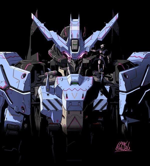 Gundam Vidar par Ippei Gyoubu 2/2