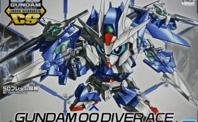 SD Gundam Cross Silhouette Gundam OO Diver Ace