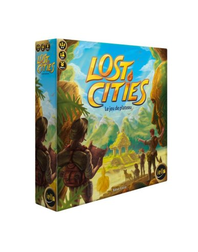 Lost Cities Le Jeu de Plateau