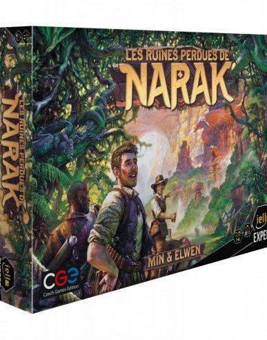 les ruines perdues de narak