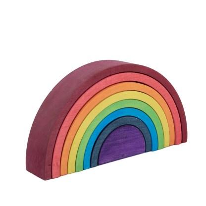Rainbow stacker side web