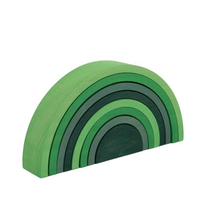 Green stacker side web