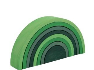 Green stacker side web