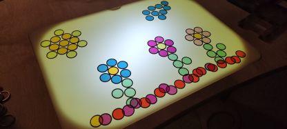 Light table flowers 2