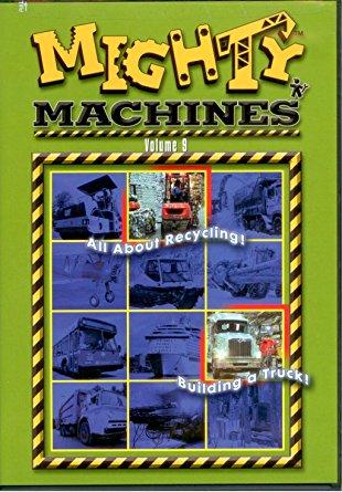 Mighty Machines Volume 9 Mighty Machines DVD Toy Sense