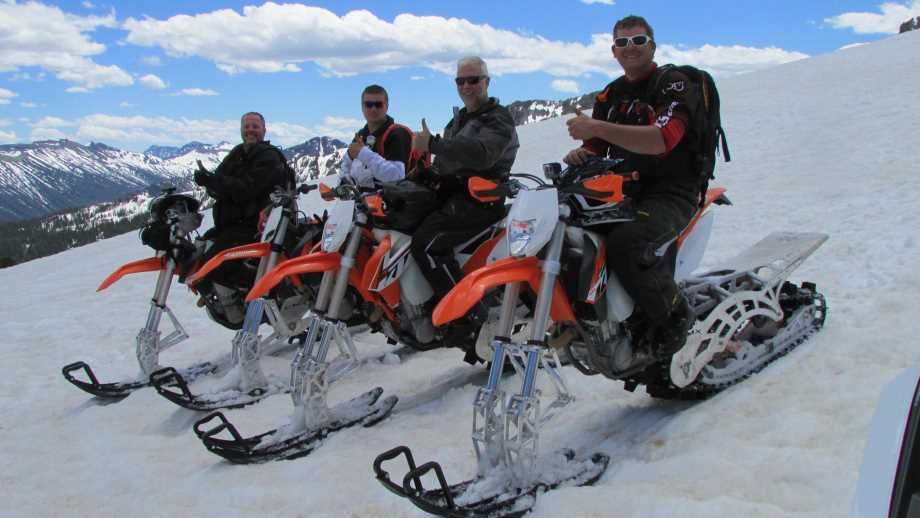 Crazy Mountain Snowmobiles