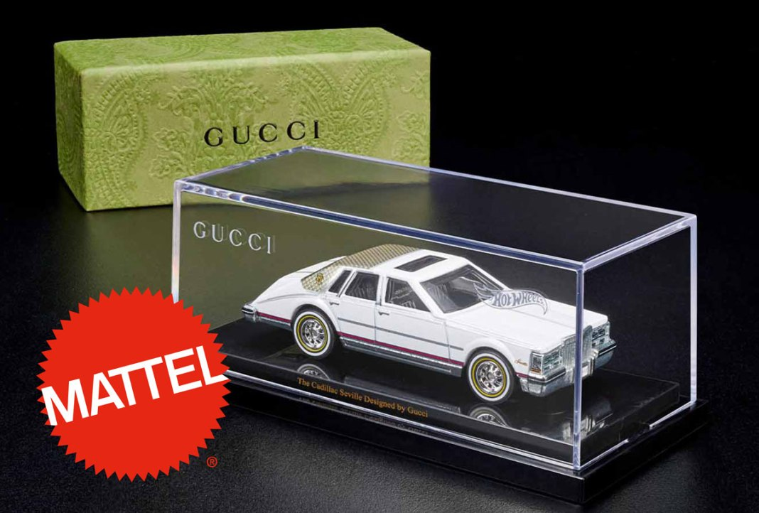 Mattel Creations unveils the Hot Wheels x Gucci Cadillac Seville