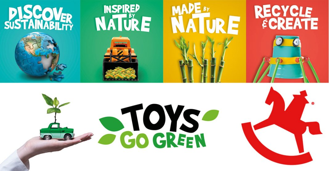 The mega trend for Spielwarenmesse 2022: Toys go Green