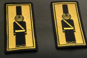 Toy Soldier Shoulder Patches