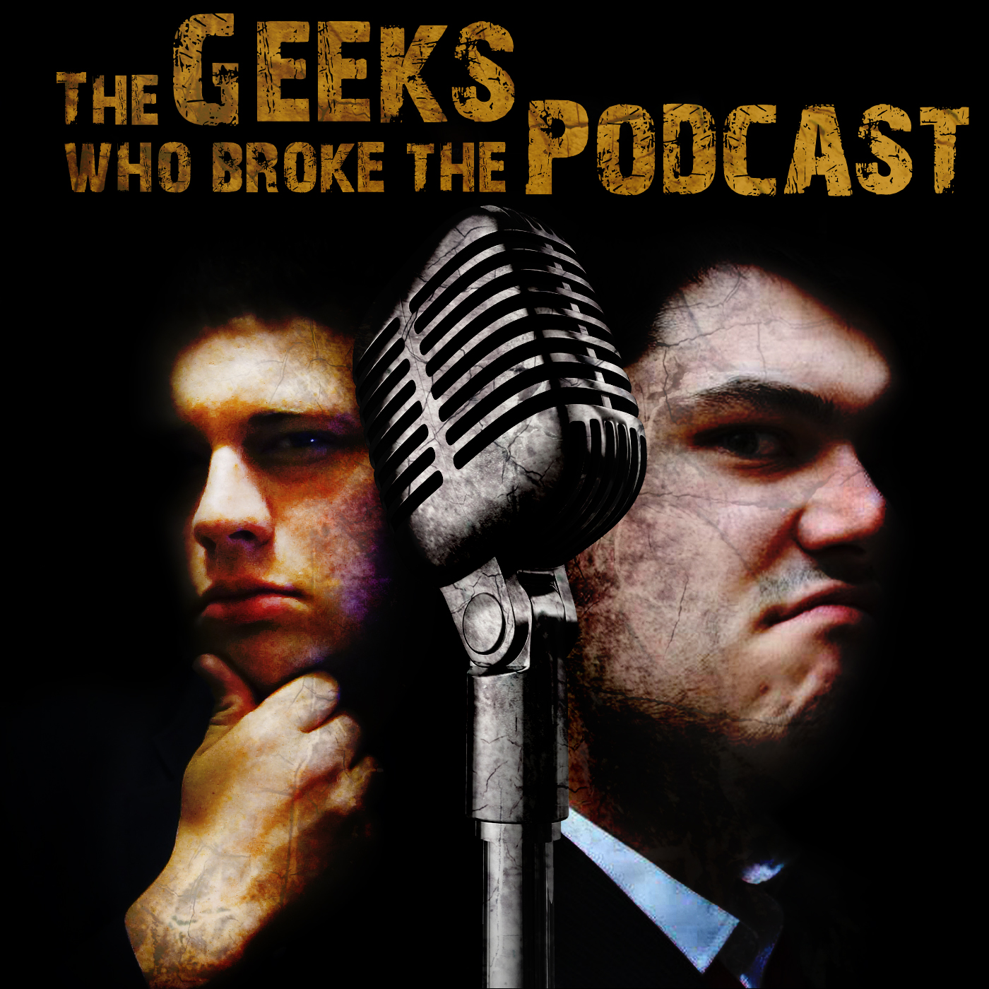 The Geeks Who Broke The Podcast Banner