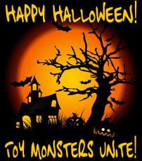 Happy Halloween Toy Monsters!