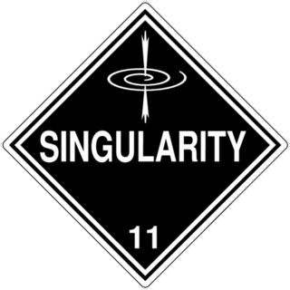 Singularity Warning Sign Graphic
